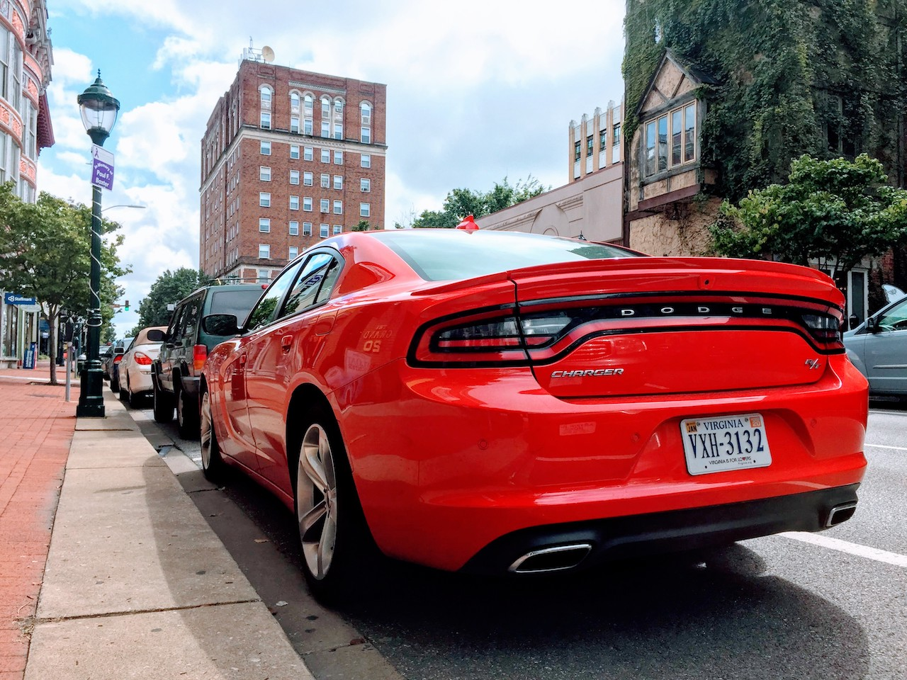 2018 Dodge Charger R/T rear