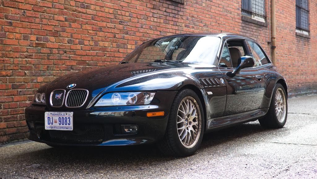 2001 BMW Z3 coupe front left