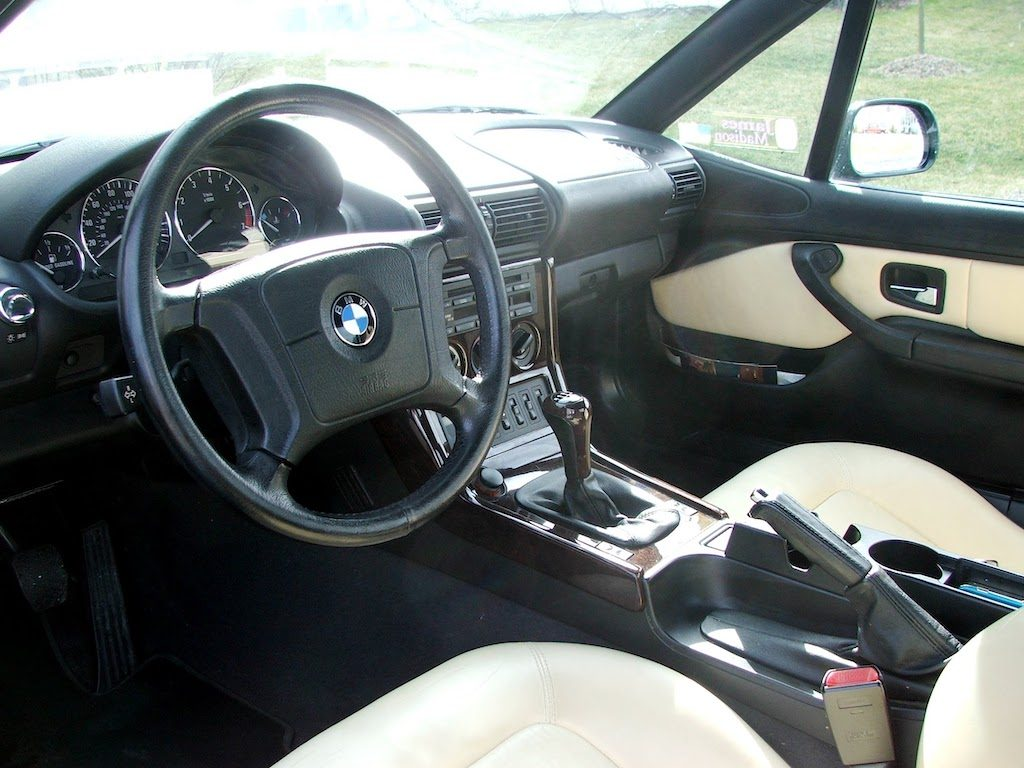 1999 BMW Z3 roadster British Traditional interior