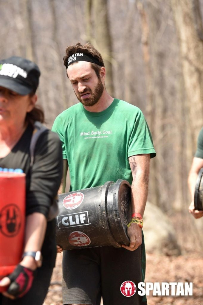 Spartan Race bucket carry
