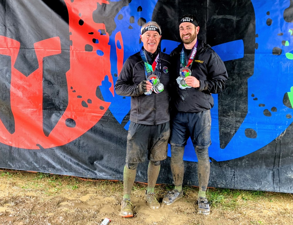 Spartan Race double Trifecta finishers