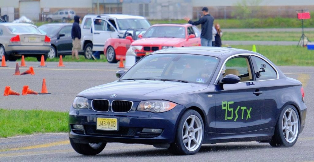 BMW 128i front at autocross