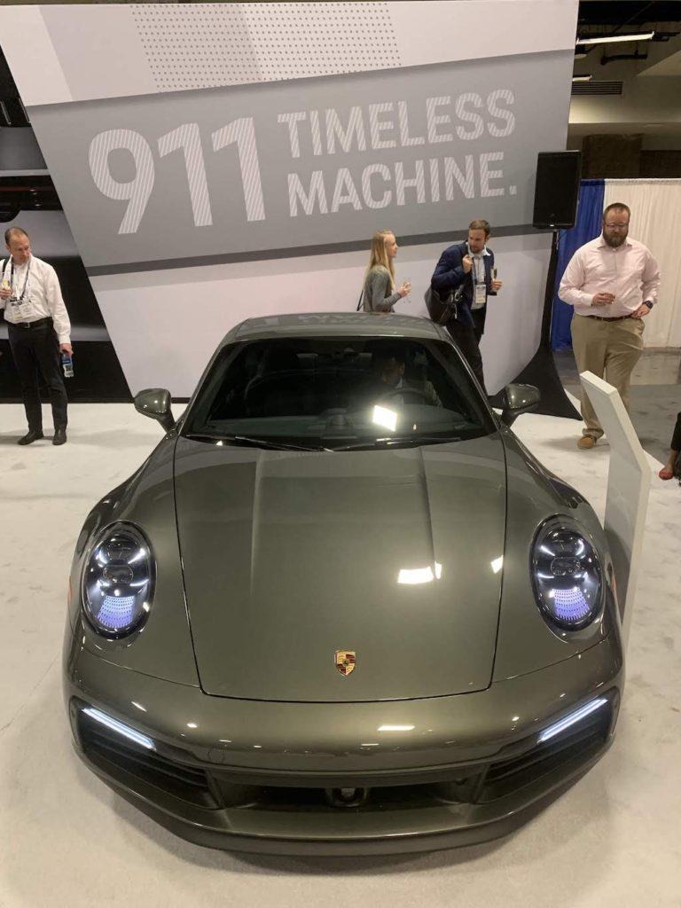 2020 Porsche 911 front end