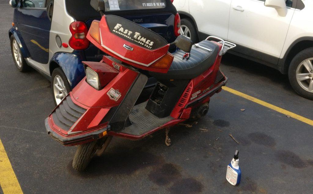 1986 Honda Elite Deluxe