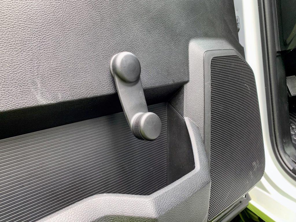 2019 Ram 2500 Tradesman window crank