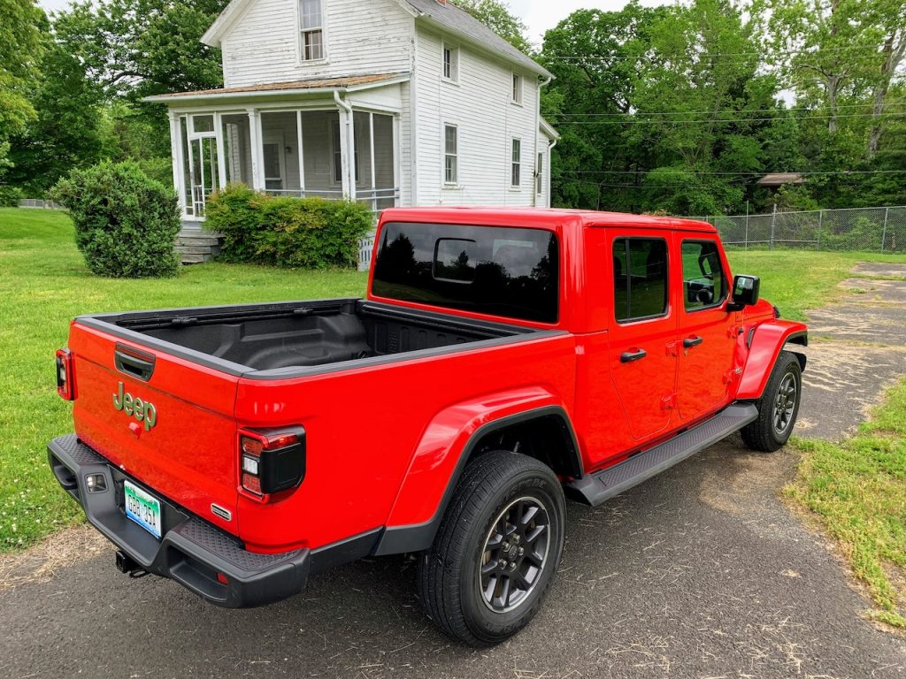 Jeep Gladiator Overland rear