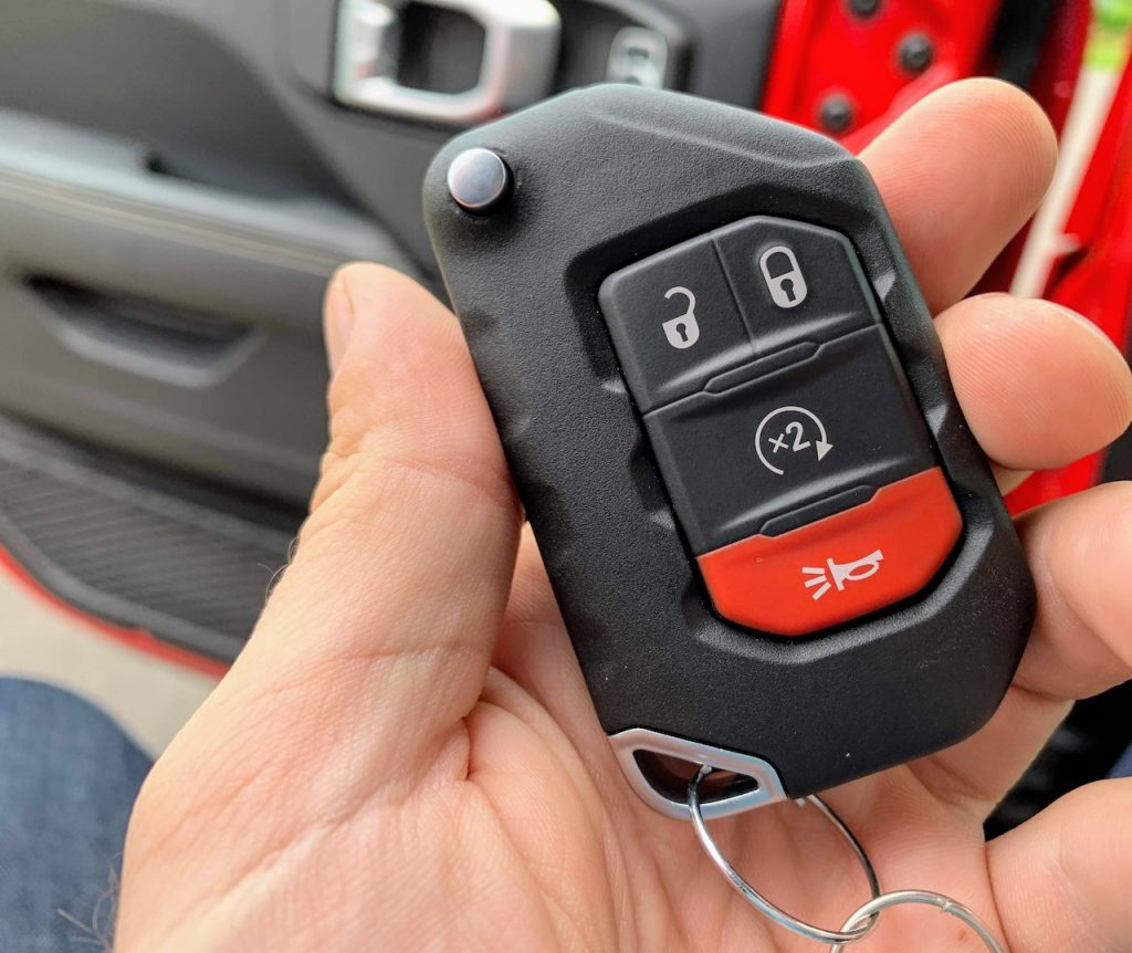 Jeep Gladiator key fob