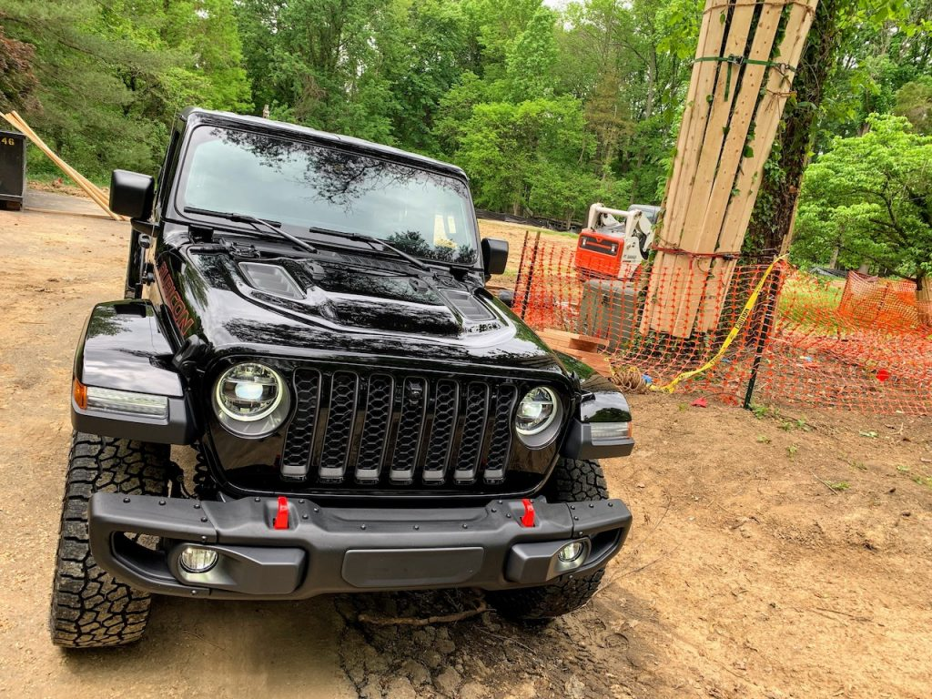 Jeep Gladiator Rubicon front