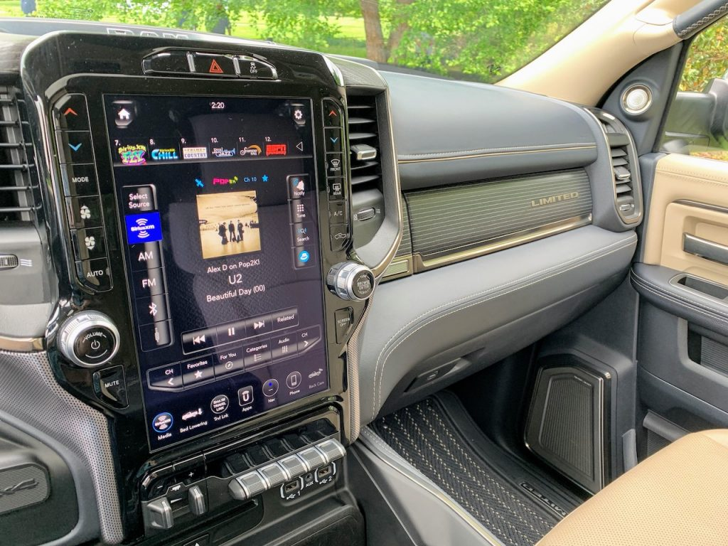 "2019 Ram 2500 Limited 12"" touchscreen"