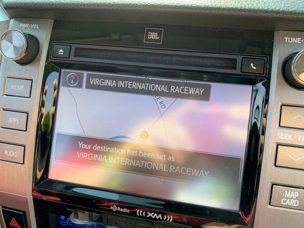 2019 Toyota Tundra navigation system