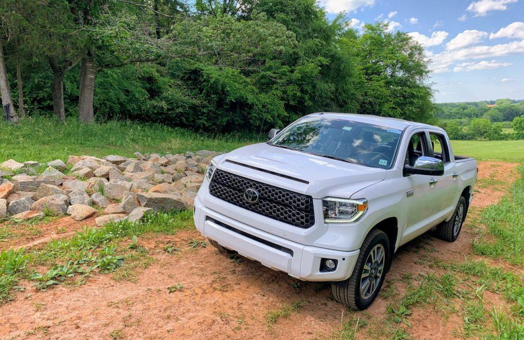 2019 Toyota Tundra Platinum front left