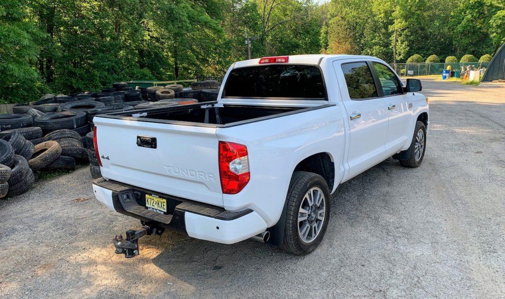 2019 Toyota Tundra Platinum rear right