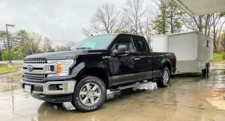 2019 F-150 EcoBoost with Trailer