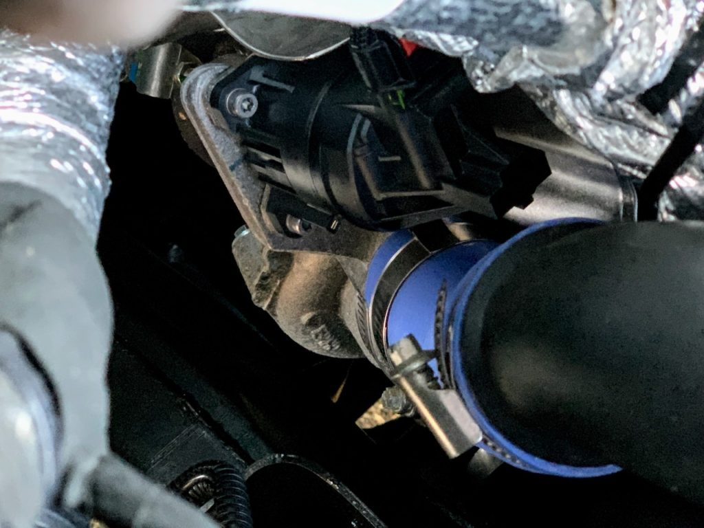 Ford EcoBoost V6 turbocharger