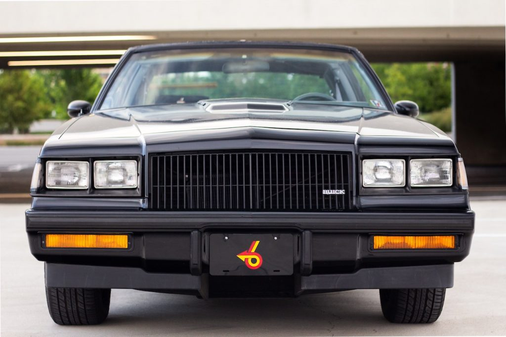 1987 Buick Grand National front end