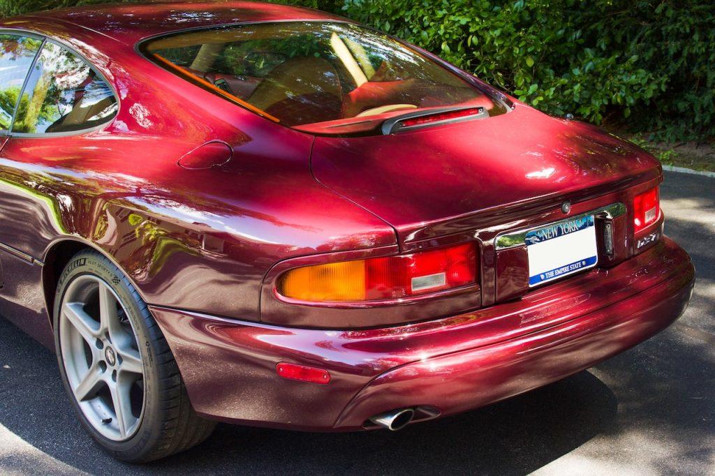 Aston Martin DB7 rear left