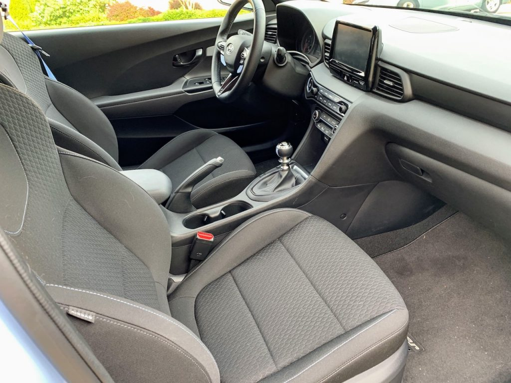 2019 Hyundai Veloster N front seats