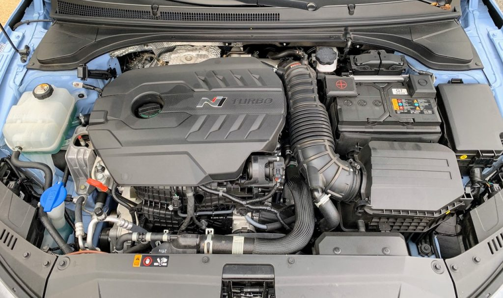 2019 Hyundai Veloster N engine