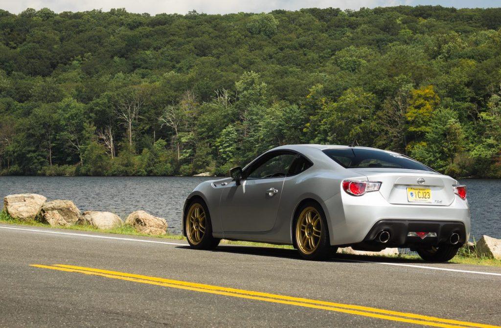 Scion FR-S rear