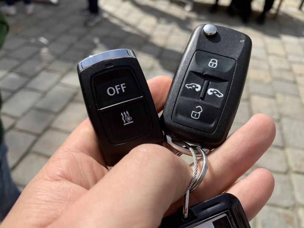VW Multivan keyfob