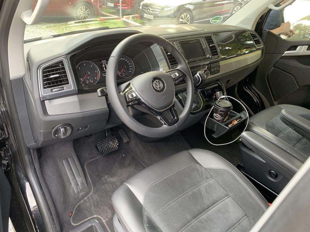 VW Multivan interior