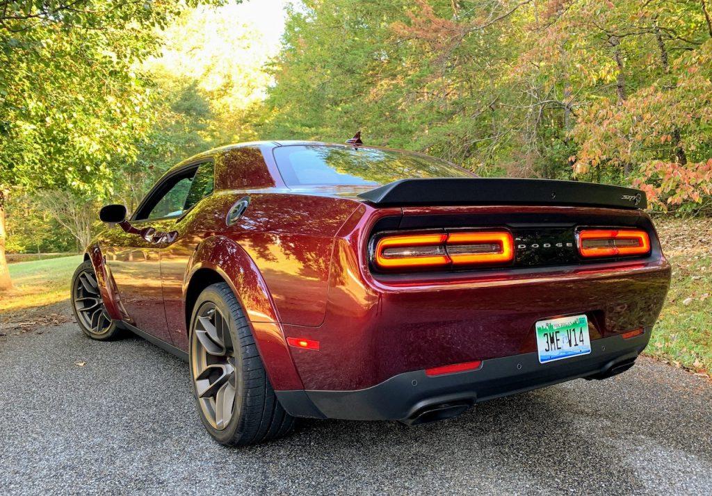 Dodge Challenger Hellcat Redeye Widebody rear