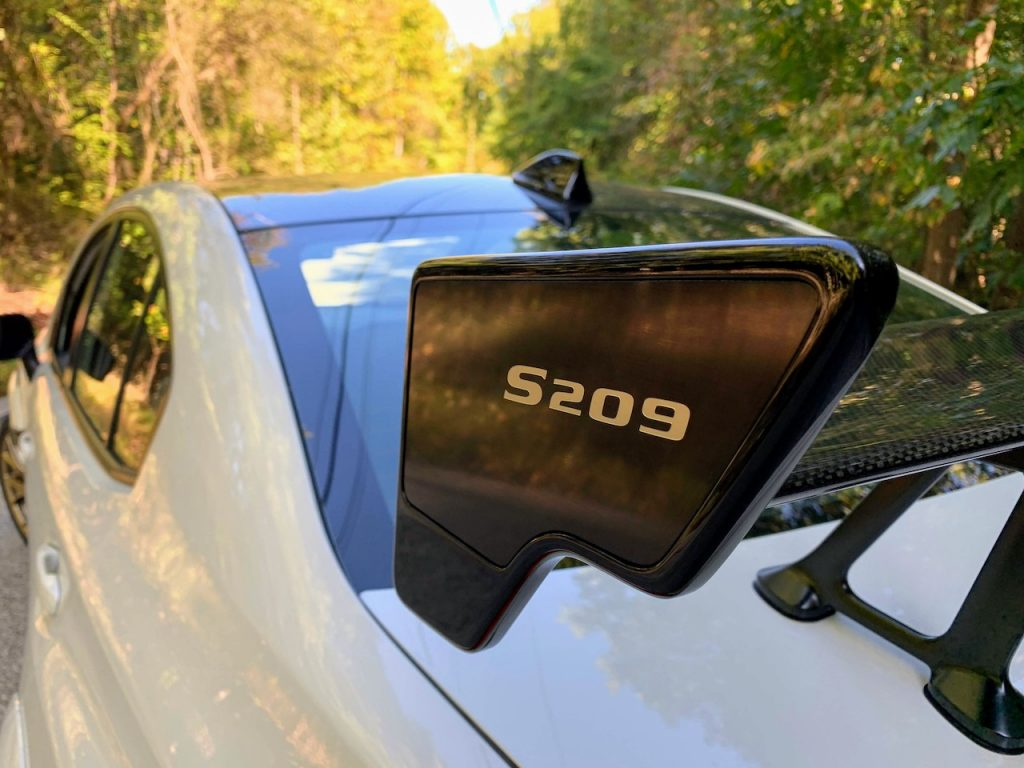 Subaru STi S209 wing
