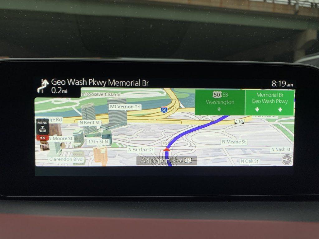 2020 Mazda3 navigation