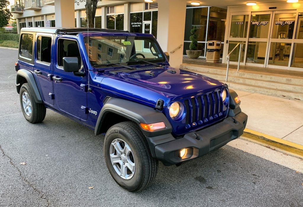 2019 Jeep Wrangler Freedom Top removed