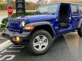 2019 Jeep Wrangler no doors