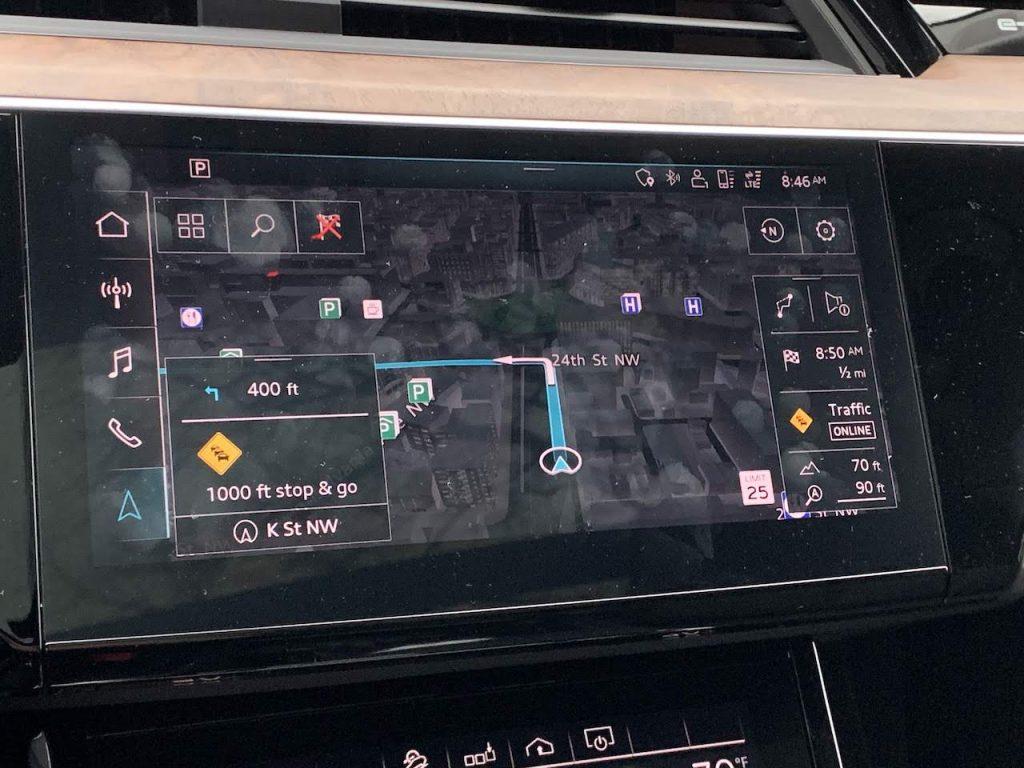Audi E-tron MMI
