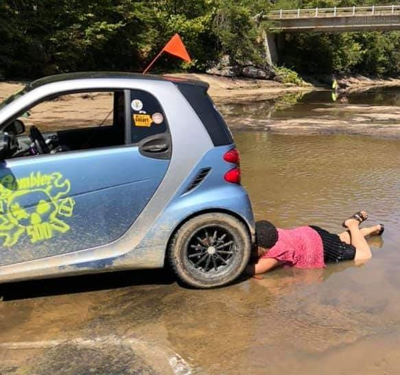 smart fortwo off-road mud