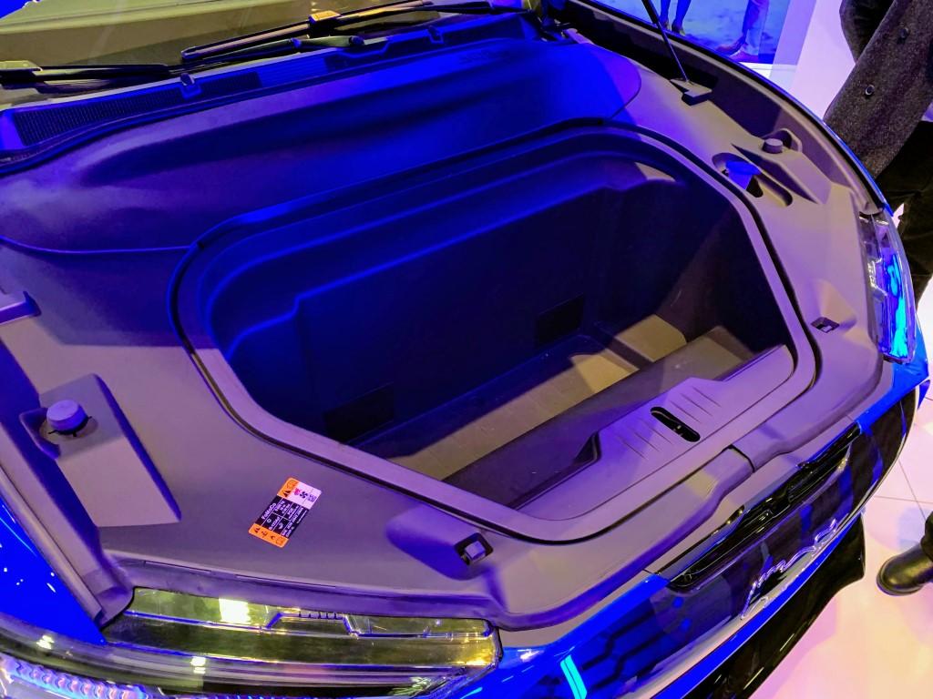 Mustang Mach-E front trunk frunk