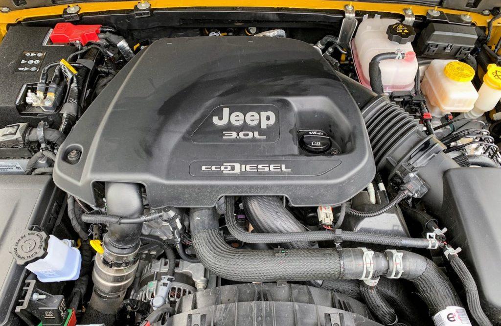 Jeep Wrangler EcoDiesel engine