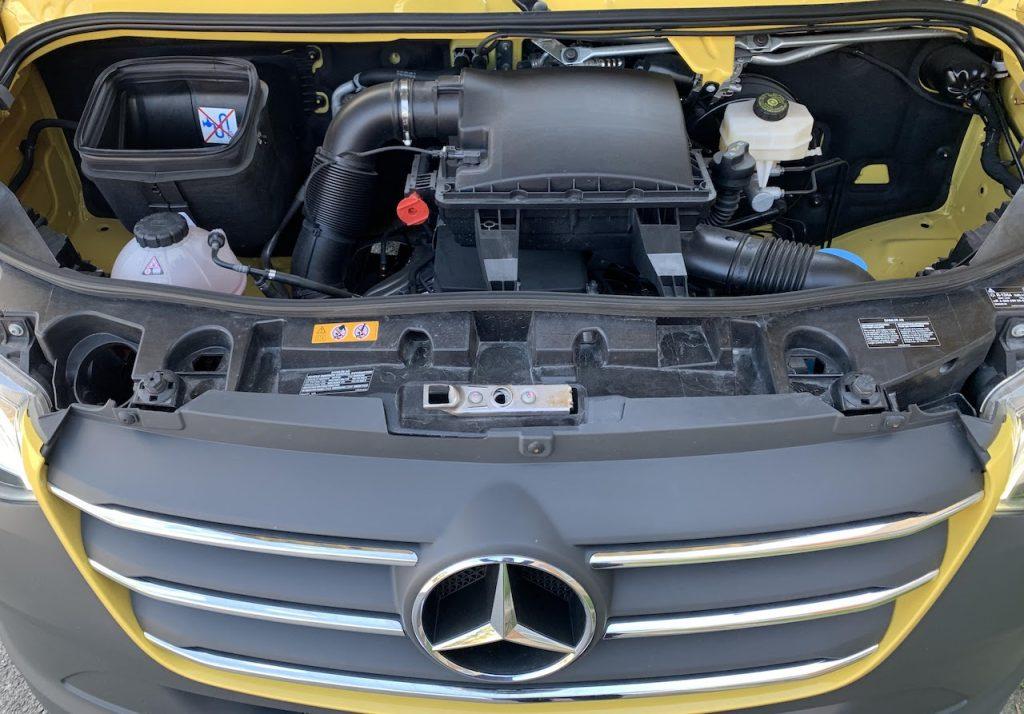 Sprinter 2500 four cylinder