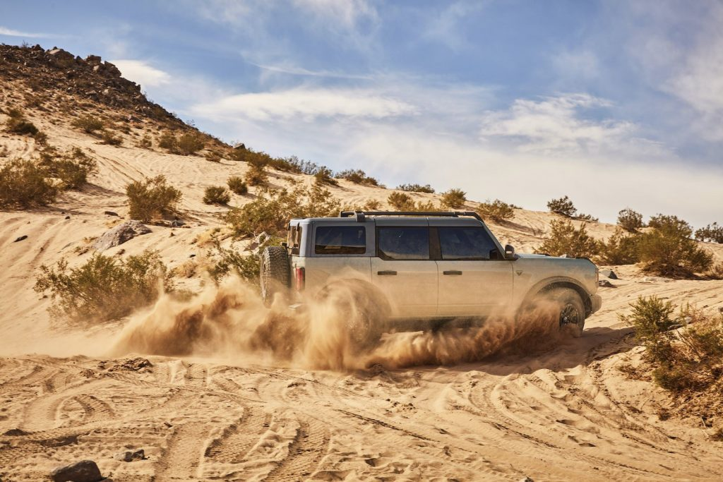 2021 Ford Bronco Cactus Gray