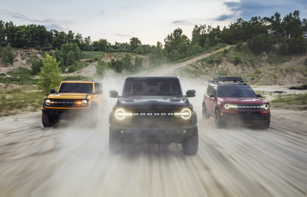 2021 Ford Bronco family