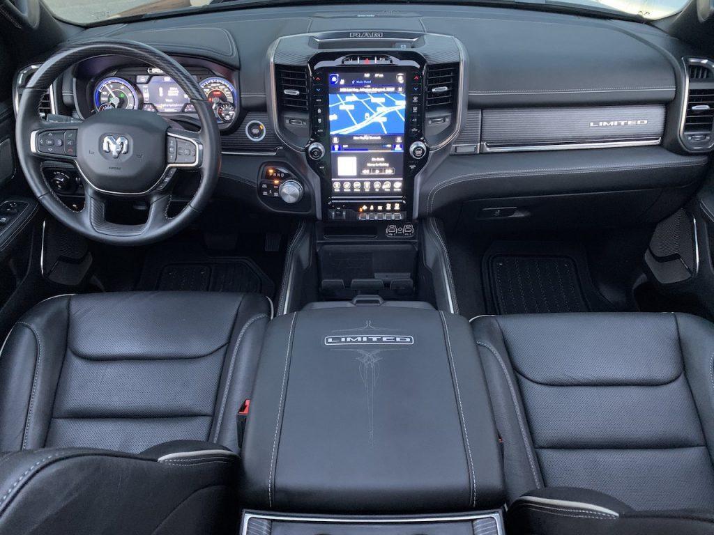 Ram 1500 Limited black interior