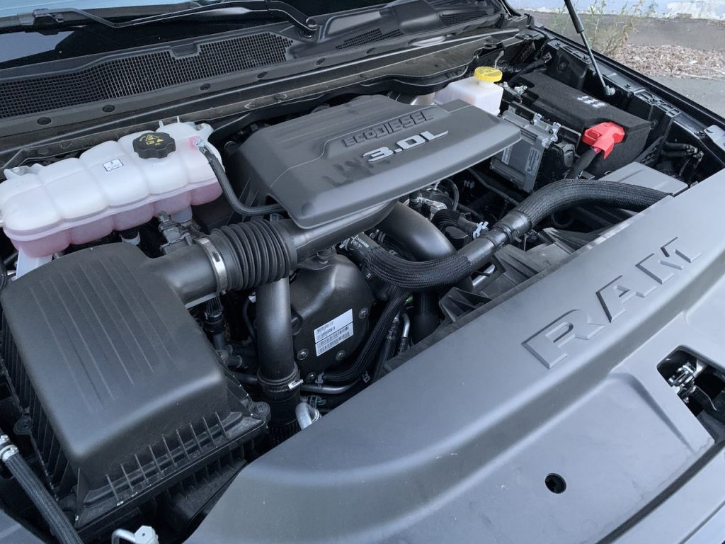 Ram 1500 EcoDiesel engine