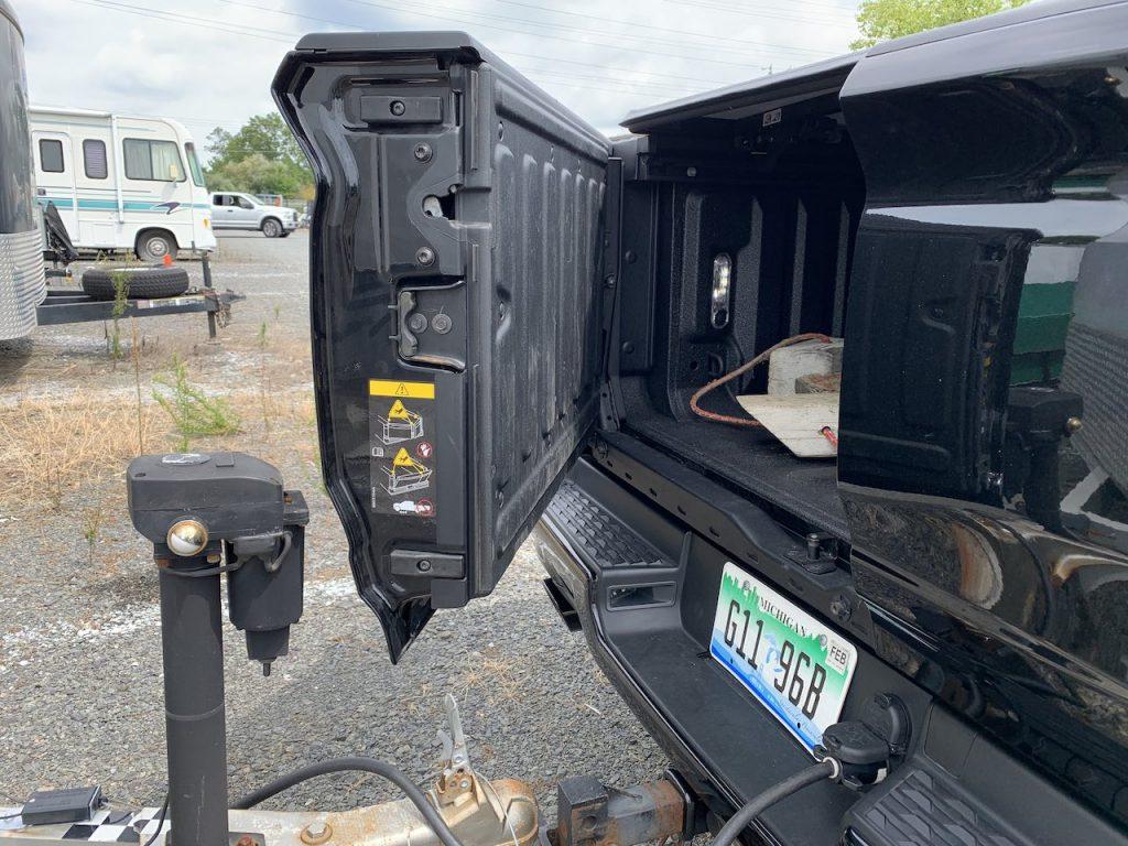 Ram 1500 multi function tailgate trailer