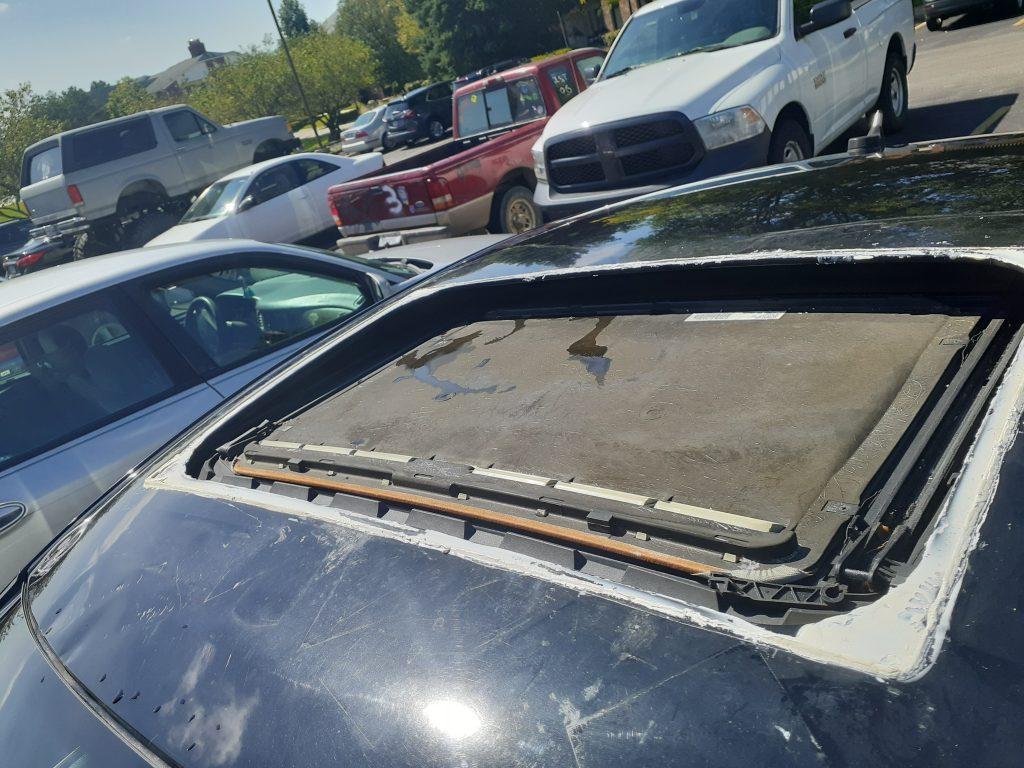 Volkswagen Passat W8 manual sunroof