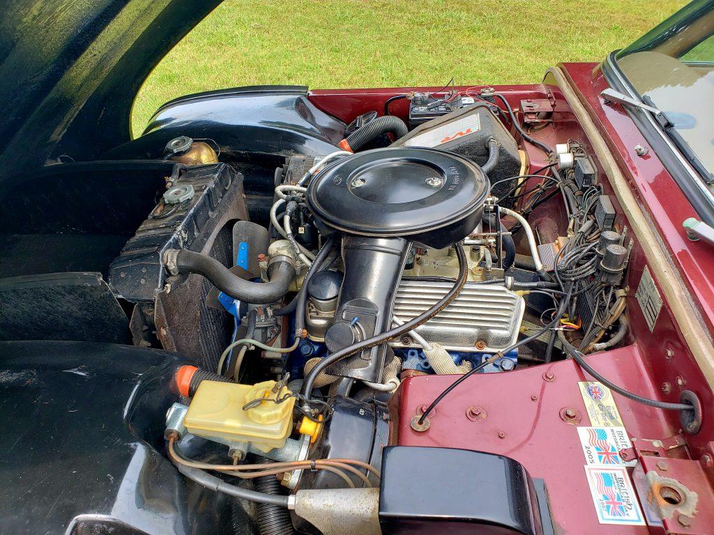 TVR Taimar engine