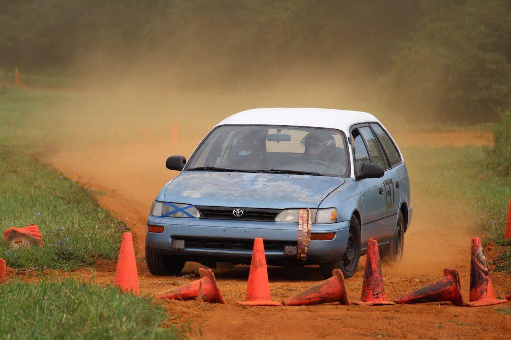 1993 Toyota Corolla wagon rallycross