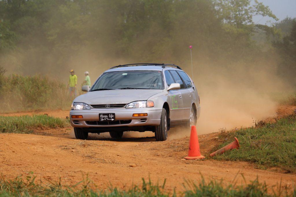 1996 Toyota Camry wagon rallycross