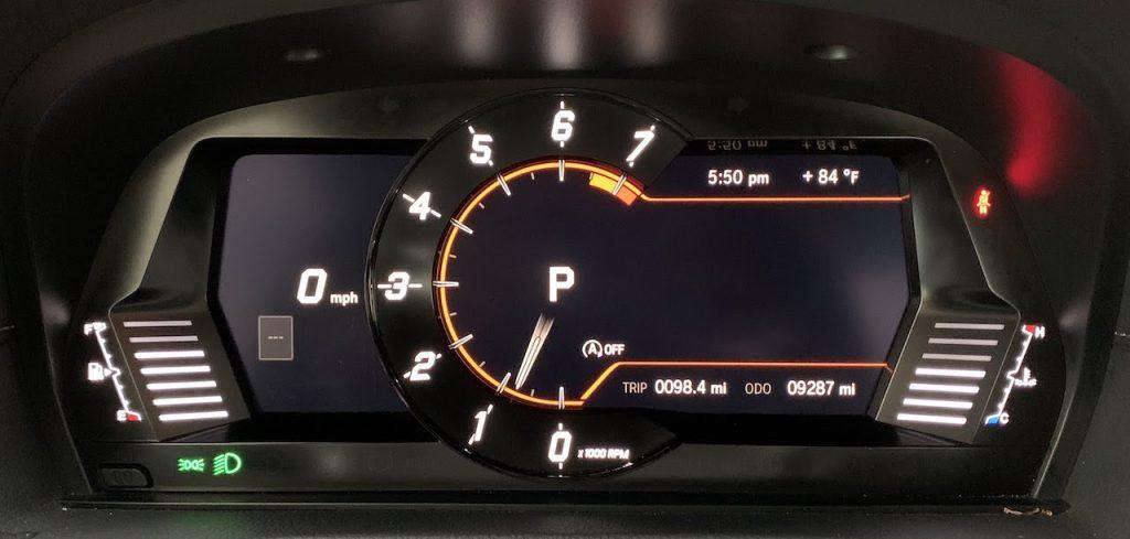 2020 Toyota Supra gauges