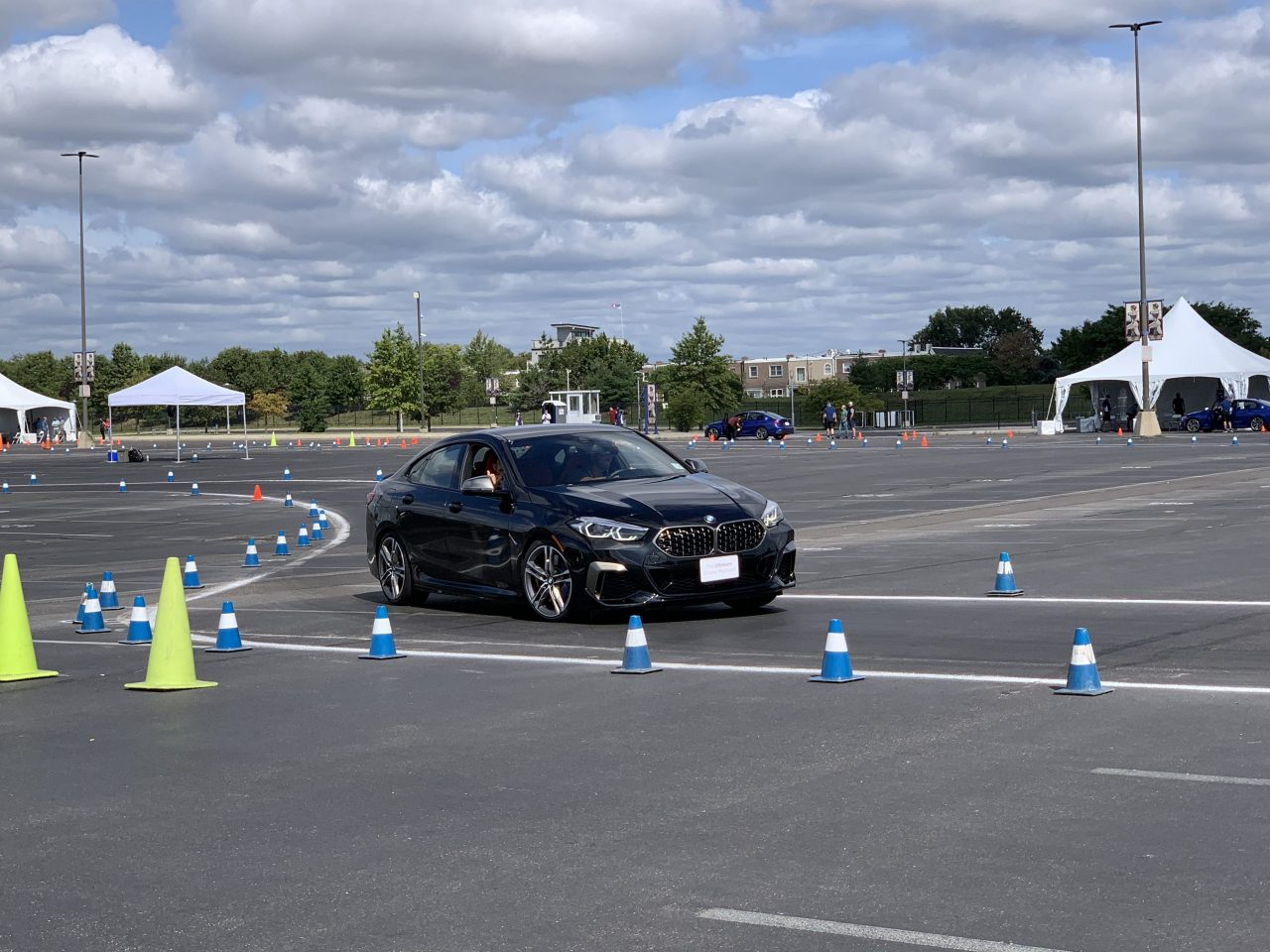2020 BMW M235i Gran Coupe autocross