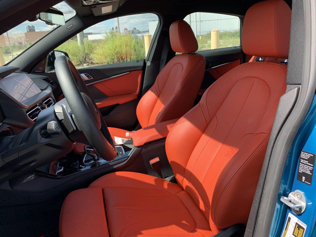 M235i gran coupe red interior