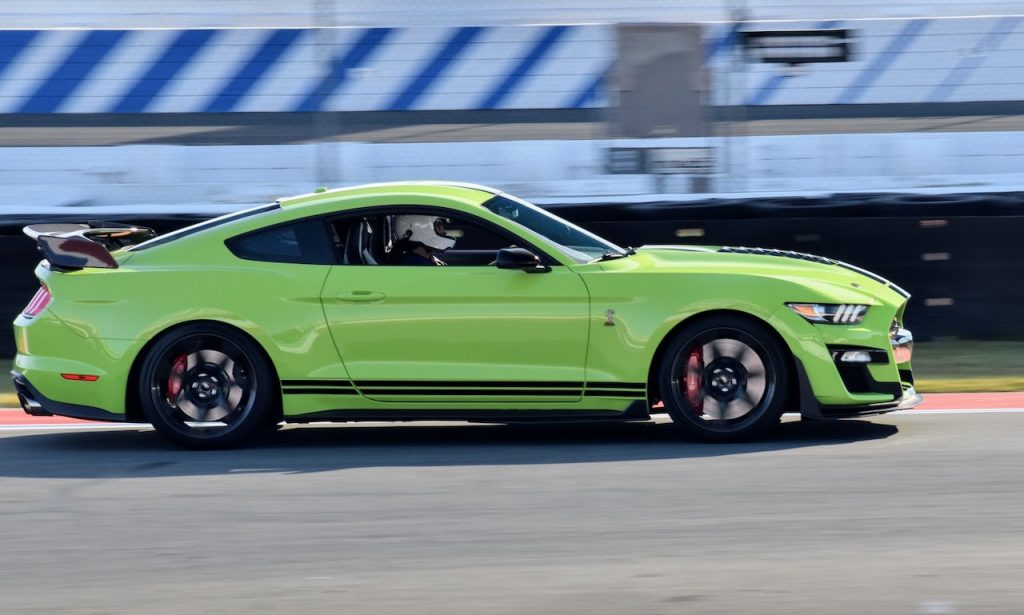 2020 Shelby GT500 green
