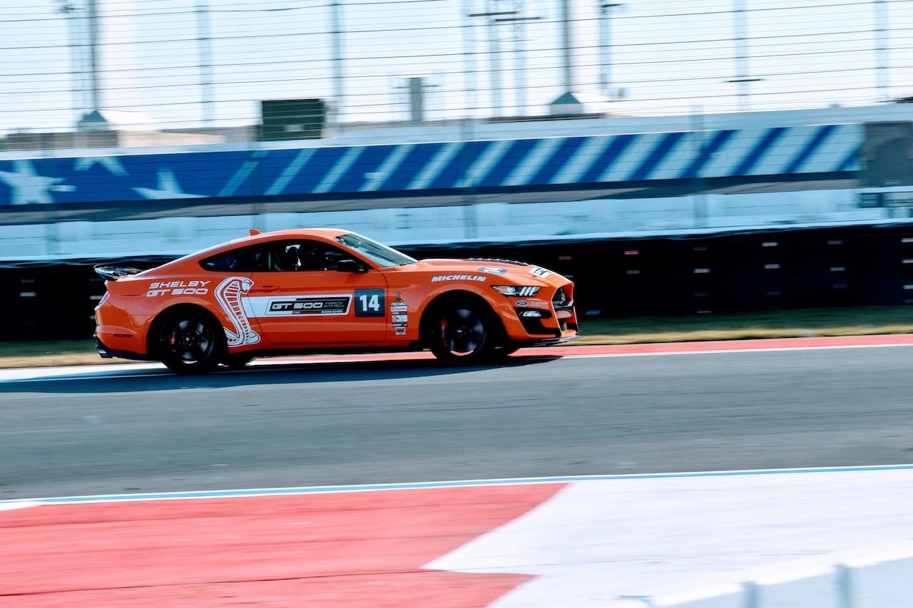 2020 Shelby GT500 orange