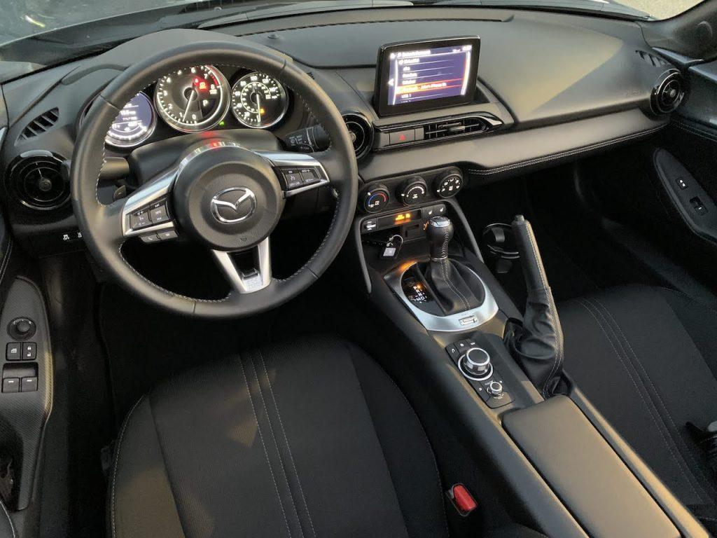2020 Mazda Miata RF automatic interior